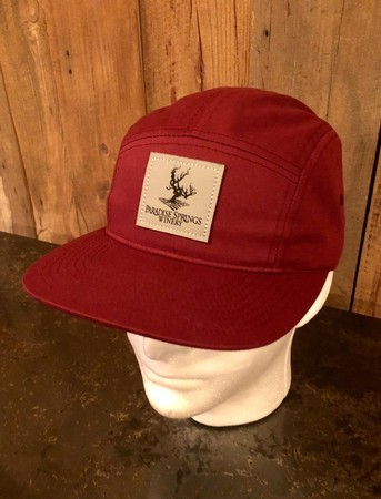 PSW 5 Panel Hat Red
