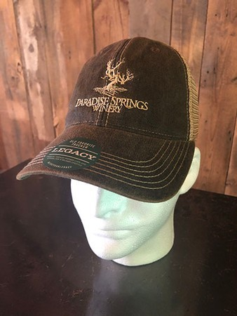 Faded Black Logo Trucker Hat
