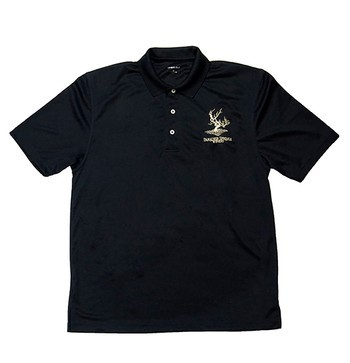 Men's Golf Shirt- Black