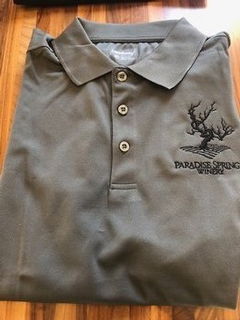 Men's Golf Shirt- Grey Image